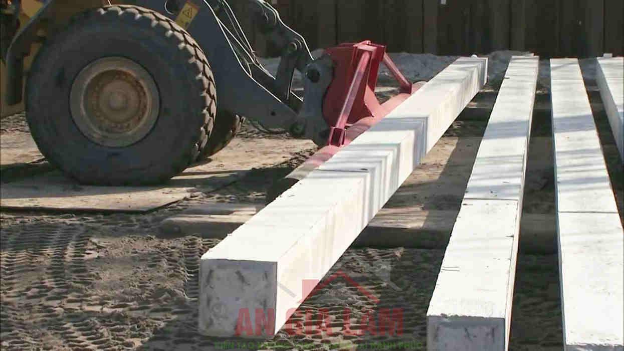 quy trình ép cọc bê tông