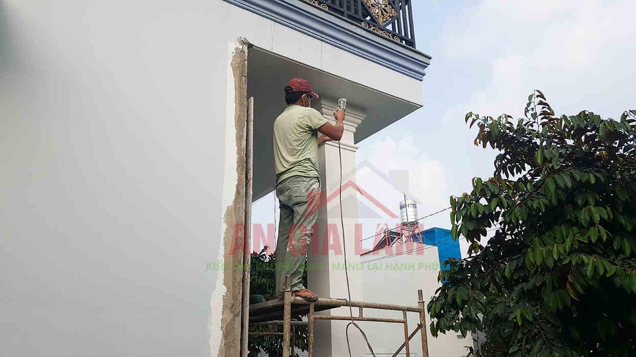 sơn nhà bao lâu thì vào ở được