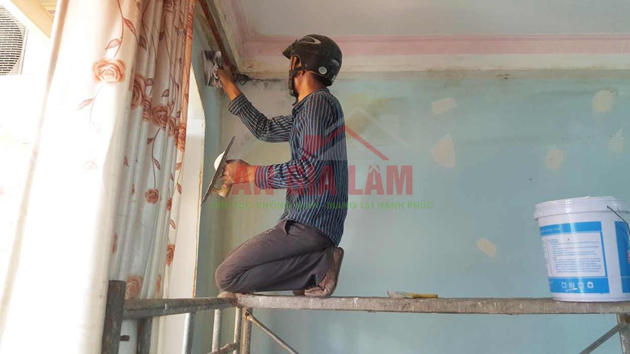 sơn nhà trọn gói tphcm