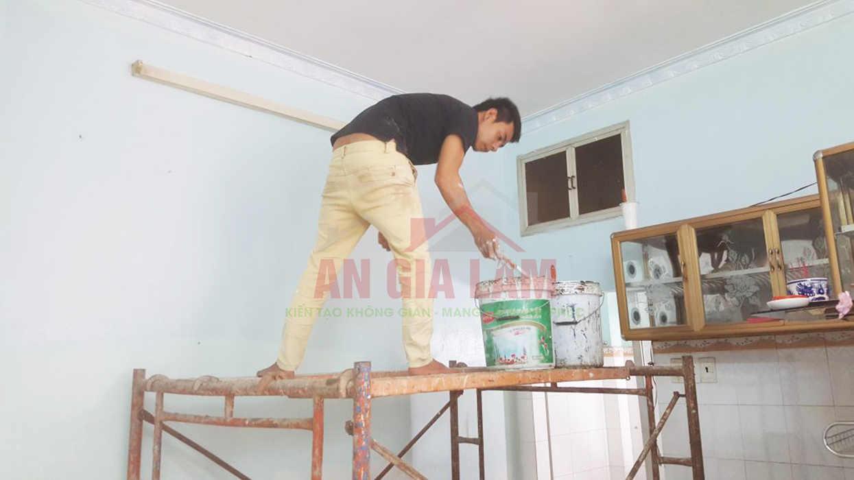 thợ sơn nhà trọn gói tphcm